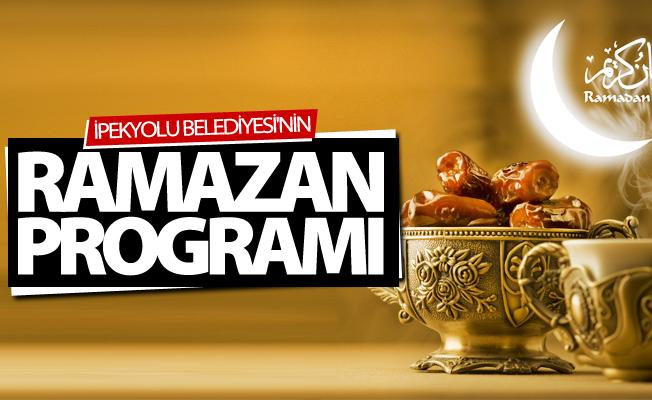 İpekyolu Belediyesi Ramazan programını açıkladı