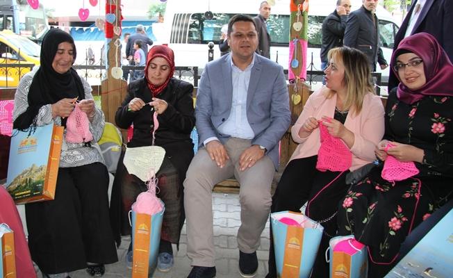 İpekyolu Belediyesinden 'İlmek İlmek Hayat' projesi
