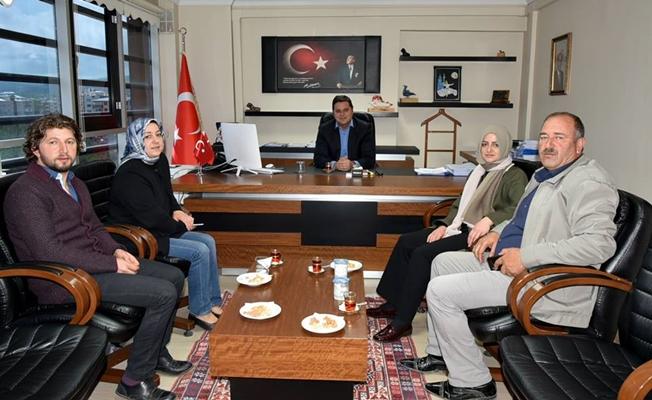 Orhan'dan Başkan Vekili Cemil Öztürk'e ziyaret