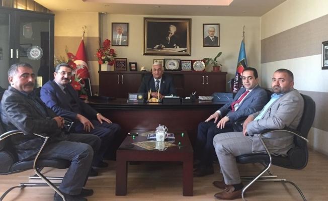 SGK İl Müdürü Göksoy'dan Başkan Tuğrul'a ziyaret