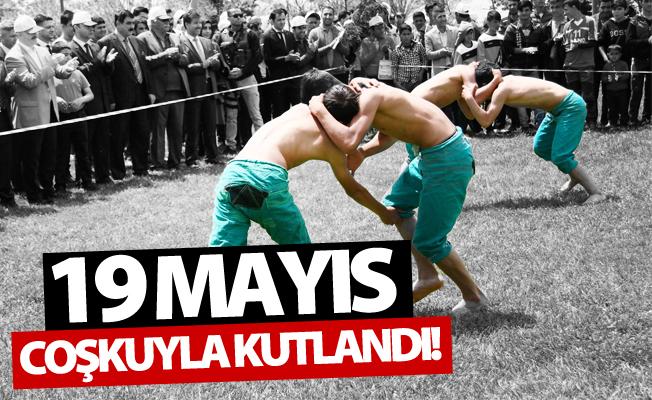 Van'da 19 Mayıs Atatürk'ü Anma, Gençlik ve Spor Bayramı kutlandı!