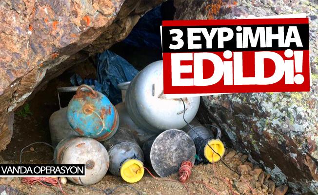 Van'da 3 EYP imha edildi