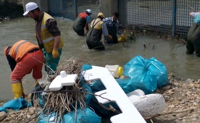 Van'da su taşkınlarına karşı önlem alındı
