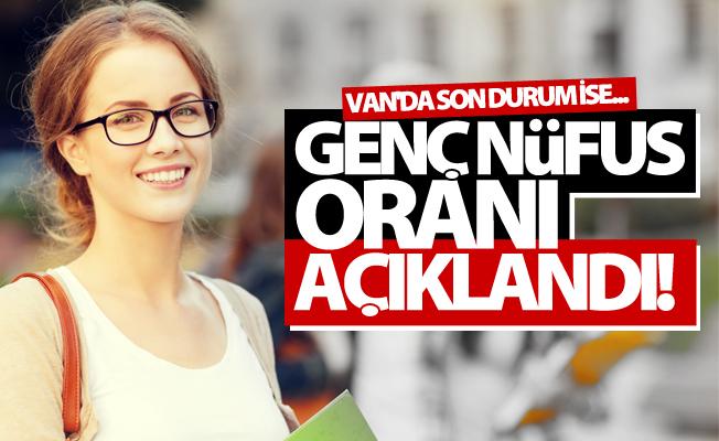 Van'ın genç nüfus oranı açıklandı!