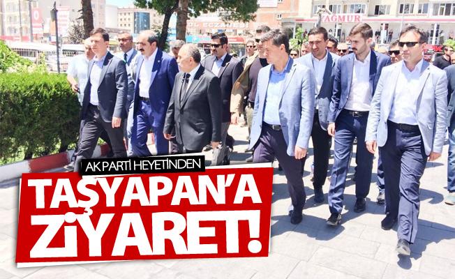 AK Parti heyetinden Vali Taşyapan'a ziyaret