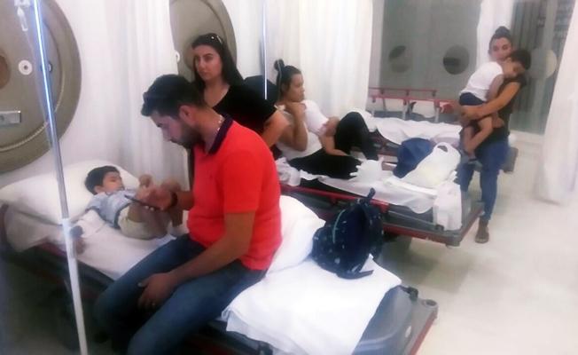 Anaokulunda gıda zehirlenmesi! 56 çocuk hastaneye kaldırldı
