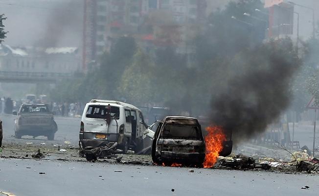 Banka yakınında patlama: 20 ölü