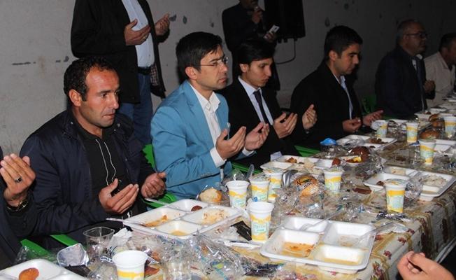 Başkale belediyesi iftar yemeği verdi