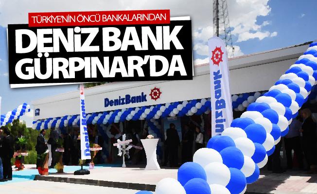 Deniz Bank Gürpınar'da şube açtı