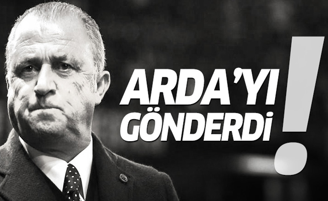 Fatih Terim, Arda Turan'ı gönderdi!