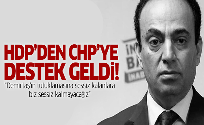 HDP: Demirtaş'ın tutuklamasına sessiz kalanlara biz sessiz kalmayacağız