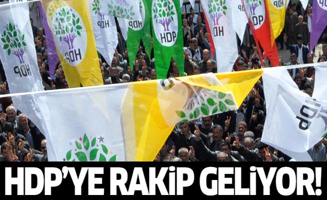HDP'ye rakip geliyor!