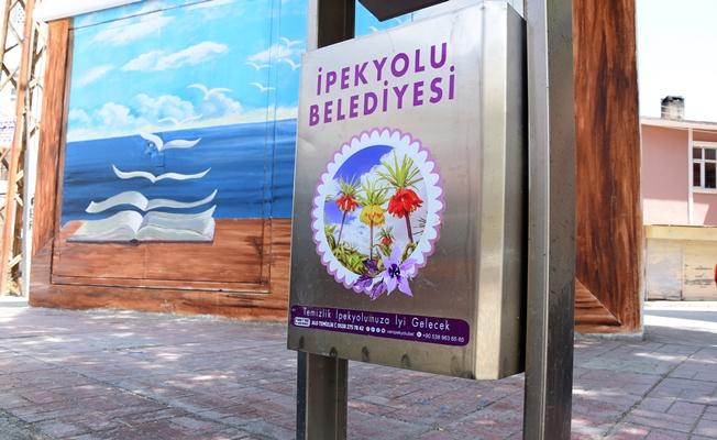 İpekyolu Belediyesi çöp kutularını yeniliyor