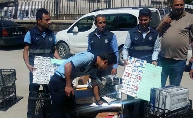 İpekyolu Belediyesi sigara kaçakçılarına sıkı denetim