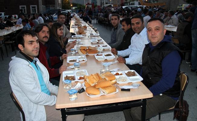 Muradiye Belediyesinde iftar programı düzenlendi