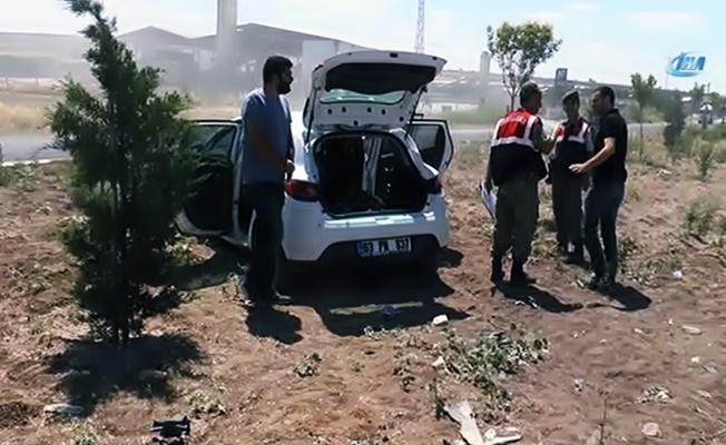 Polisten kaçıp çatışmaya giren otomobilin bagajından çıkanlar şoke etti