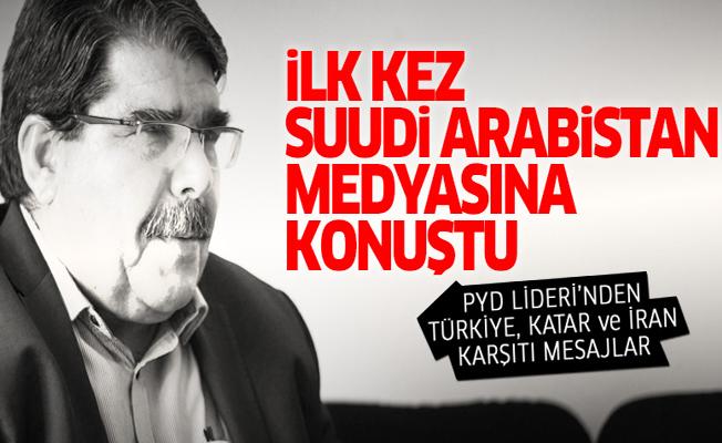 PYD Lideri Müslim, Suudi Arabistan medyasına konuştu