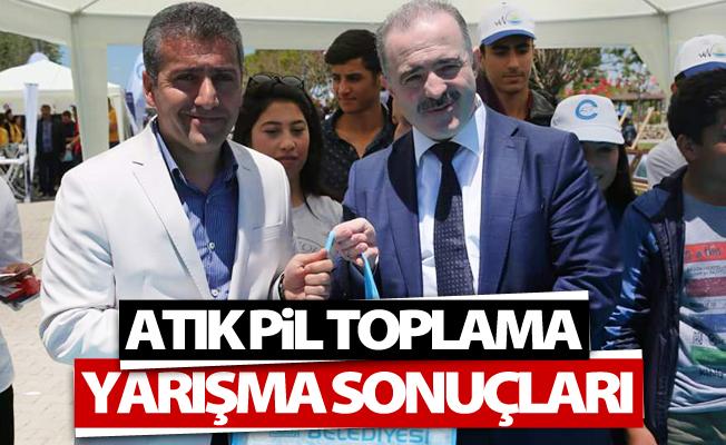 Tuşba'da 'Atık Pil Toplama' yarışma sonuçları açıklandı