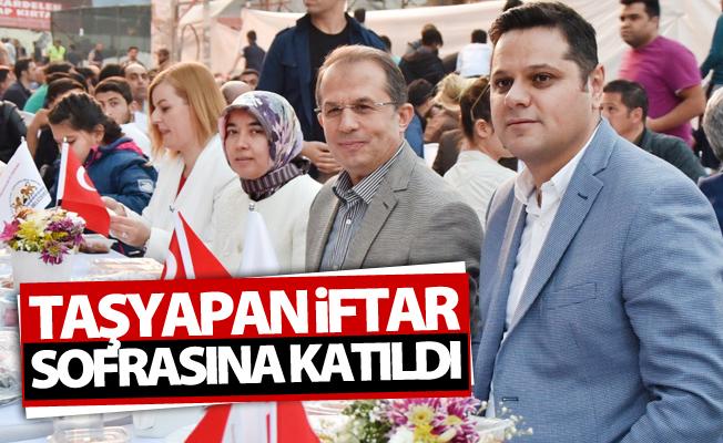 Vali Taşyapan İpekyolu'nun iftar sofrasına katıldı