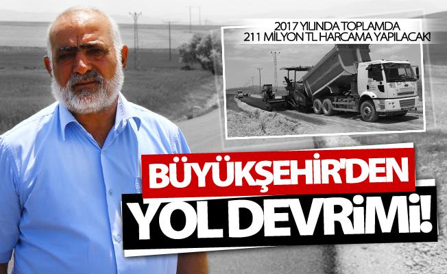 Van Büyükşehir Belediyesi'nden yol devrimi