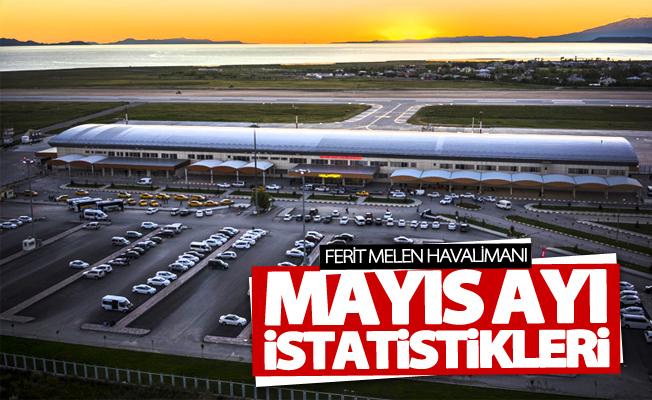 Van Ferit Melen Havalimanı Mayıs ayı istatistikleri