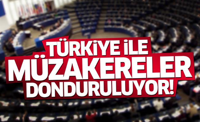 Avrupa Parlamentosu müzakereleri donduruyor!