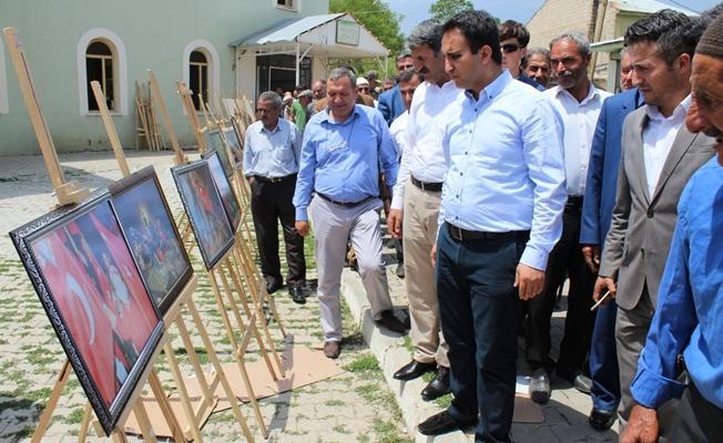 Çaldıran'da '15 Temmuz' konulu fotoğraf sergisi