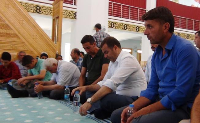 Erciş'te 15 Temmuz şehitleri için mevlit
