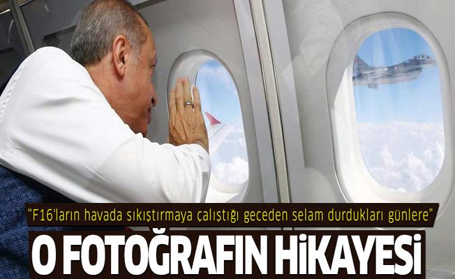 Erdoğan'ın 'Kalbimdesiniz' jestine F-16 pilotu böyle karşılık verdi