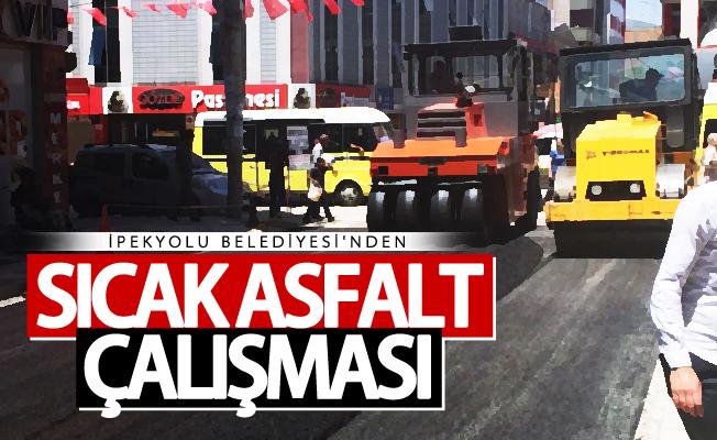 İpekyolu Belediyesinden asfalt çalışması