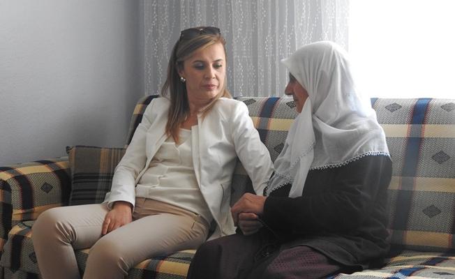 Kaymakam Uçar'dan Şehit Arslan'ın ailesine ziyaret