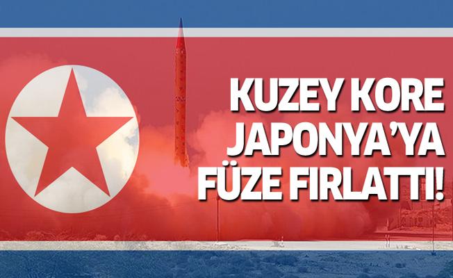 Kuzey Kore'den Japon sularına füze atışı
