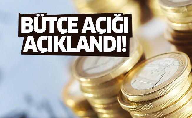 Maliye Bakanlığı bütçe açığını açıklandı