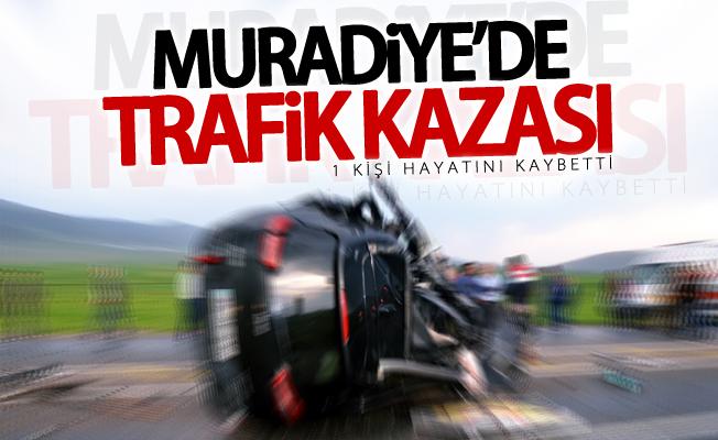 Muradiye'de trafik kazası, 1 ölü