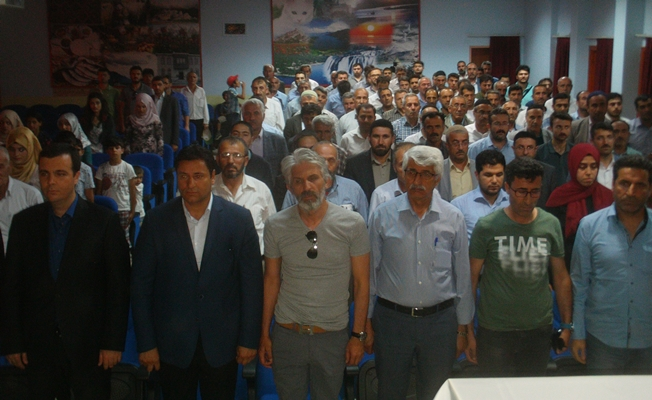Özalp'ta 15 Temmuz Şehitlerini Anma, Demokrasi ve Milli Birlik Günü programı