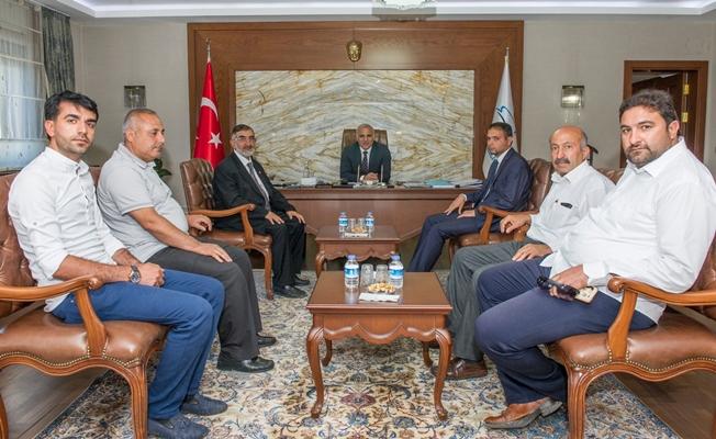 Saadet Partisinden Vali Zorluoğlu'na ziyaret