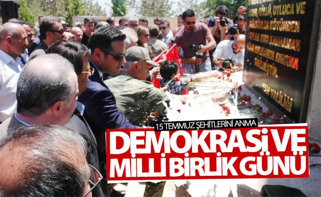 Van'da 15 Temmuz Şehitlerini Anma Demokrasi ve Milli Birlik Günü