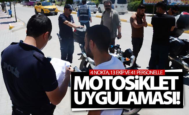 Van'da motosiklet uygulaması!