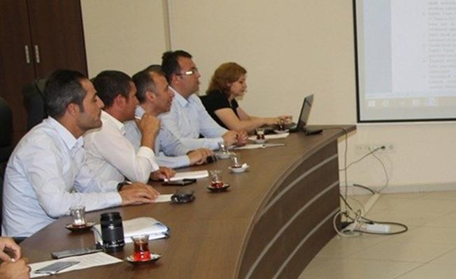 Van İl Sağlık Müdürlüğü'ndan 15 Temmuz etkinlikleri koordinasyon toplantısı