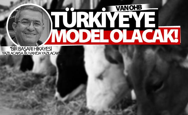 Van OHB Türkiye'de model olacak