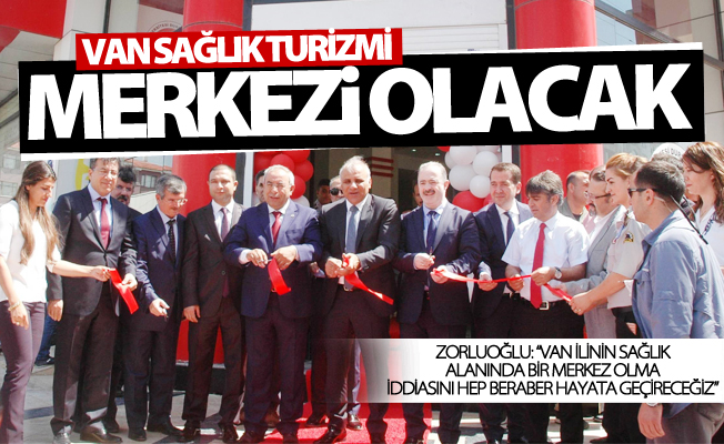 Van YYÜ semt polikliniği açıldı