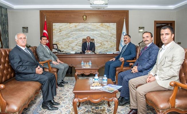 VANTB heyetinden Vali Zorluoğlu'na ziyaret