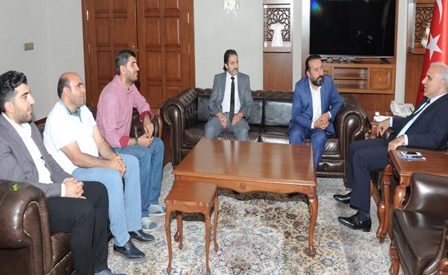 VGC'den vali Zorluoğlu'na ziyaret