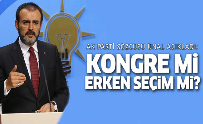 AK Parti'den erken seçim açıklaması!