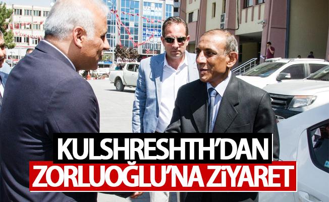 Büyükelçi Kulshreshth'dan Vali Zorluoğlu'na ziyaret