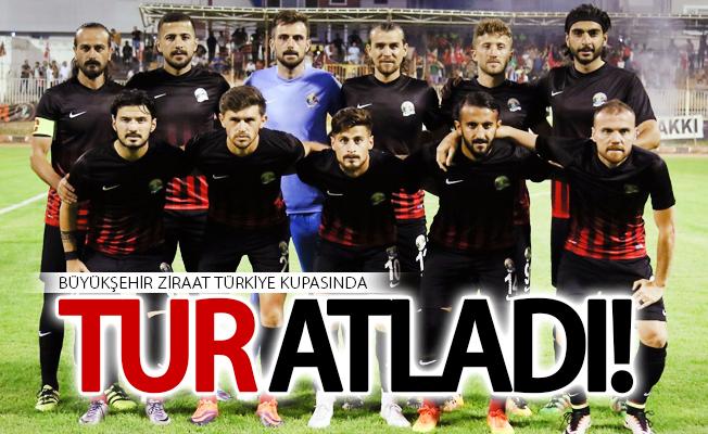 Büyükşehir Ziraat Türkiye kupasında tur atladı