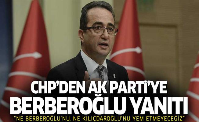 CHP'den AK Parti Sözcüsü Ünal'ın açıklamalarına yanıt
