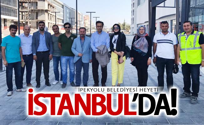İpekyolu Belediyesi heyeti İstanbul'da