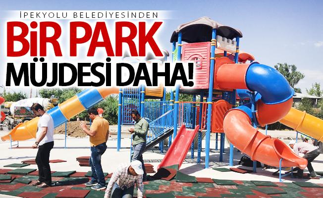 İpekyolu Belediyesinden bir park müjdesi daha