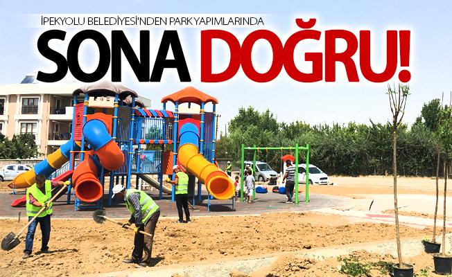 İpekyolu Belediyesinden park yapımı